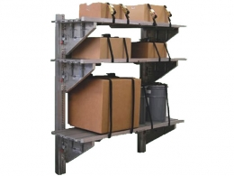 Tie Down Shelving