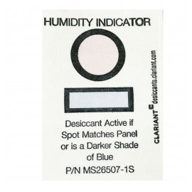 HUMIDITY INDICATOR CARD SINGLE LEVEL